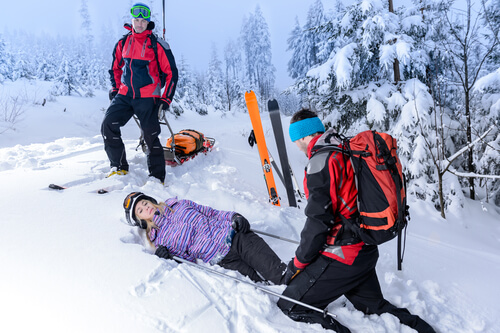 Women hurt on the ski slopes in Colorado